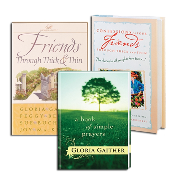 A Book Of Simple Prayers/Friends ThroughThick & Thin/Confessions Of Four Friends, 3 Books