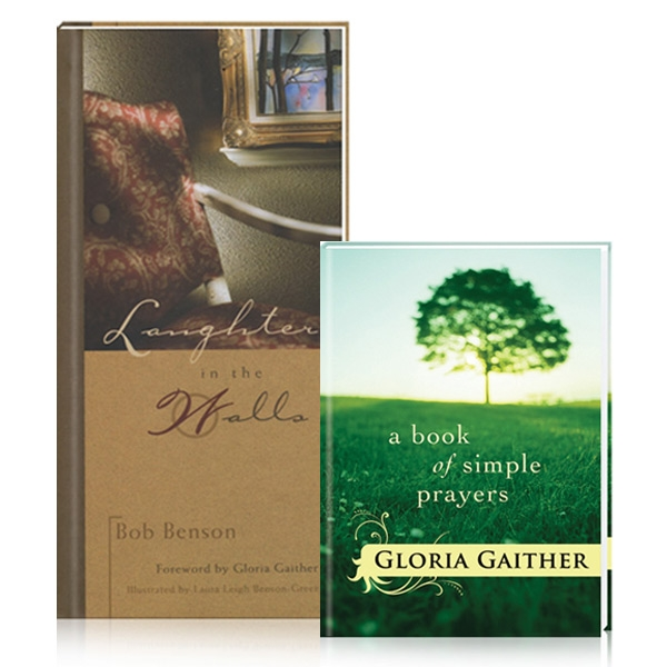 A Book Of Simple Prayers w/Laughter In The Walls 2 Books