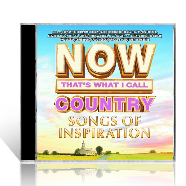 NOW Thats What I Call Country - Songs Of Inspiration CD