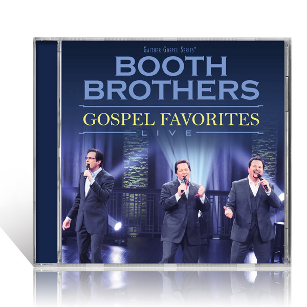 Booth Brothers: Gospel Favorites Live CD