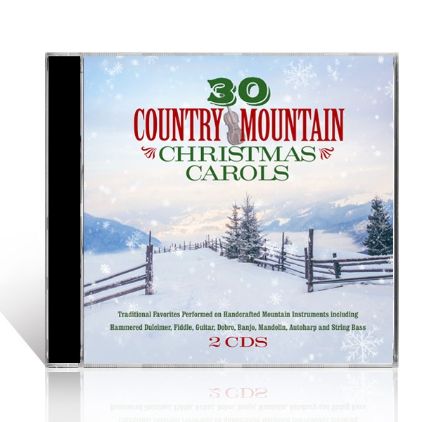 30 Country Mountain Christmas Carols 2 CDs