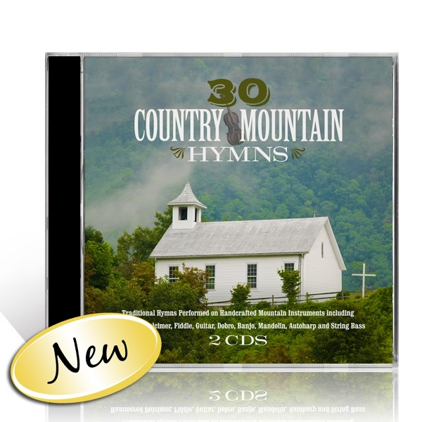 30 Country Mountain Hymns 2 CDs