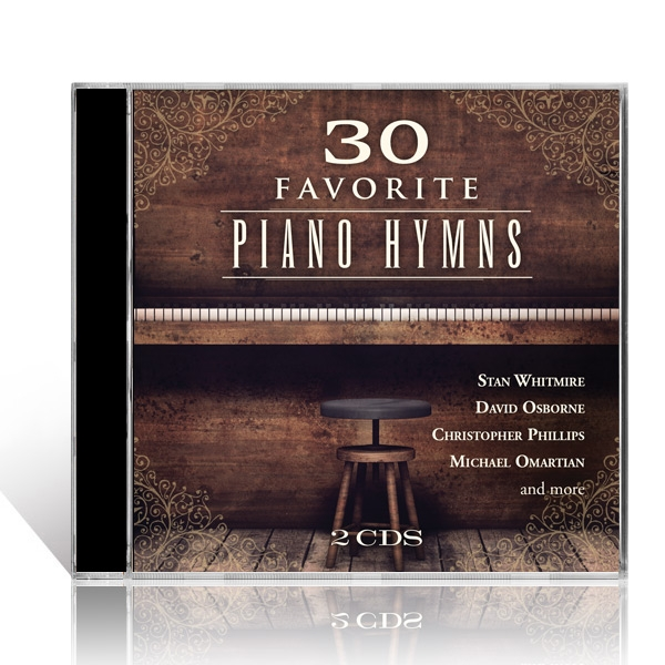 30 Favorite Piano Hymns 2 CDs