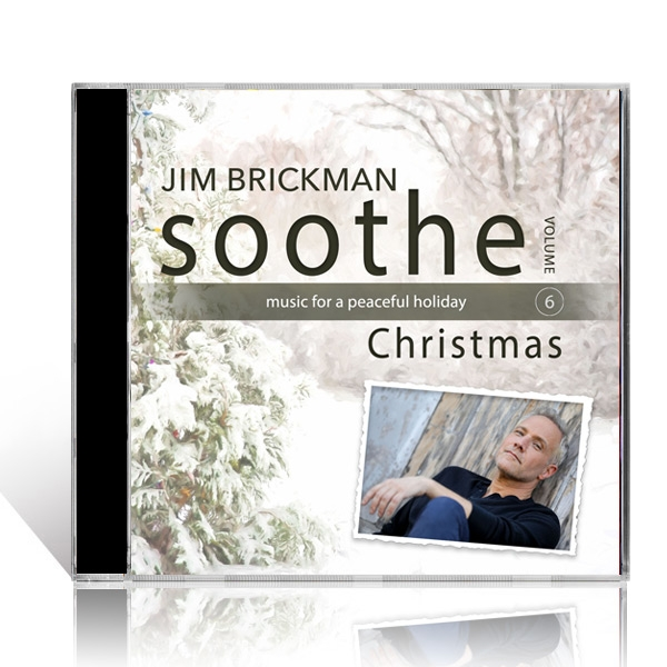 Jim Brickman: Soothe Christmas CD