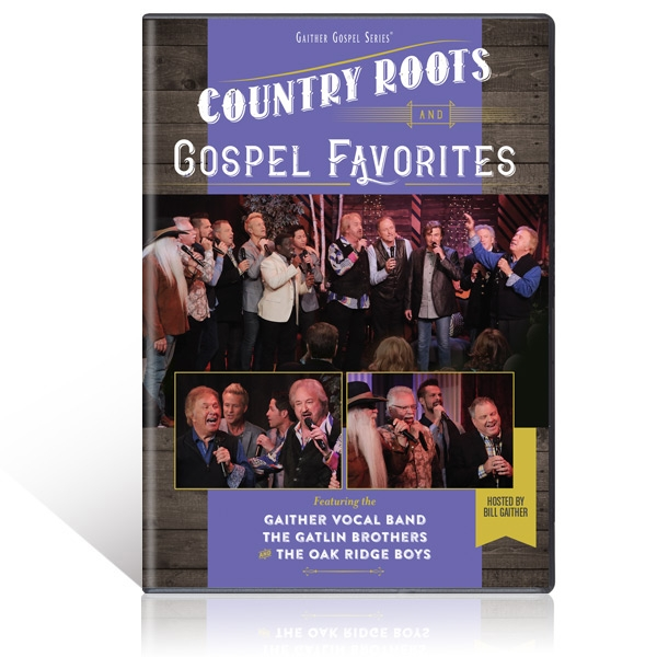 GVB/Gatlin Brothers/Oak Ridge Boys: Country Roots And Gospel Favorites DVD
