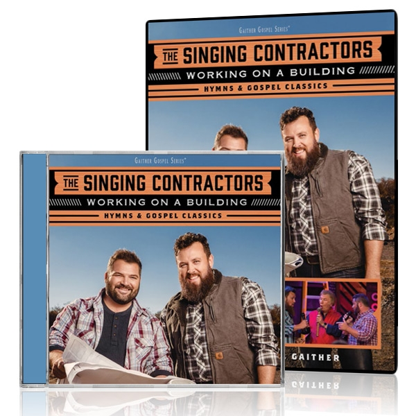 The Singing Contractors: Working On A Building DVD/CD