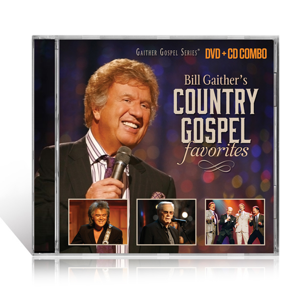 Bill Gaithers Country Gospel Favorites DVD/CD