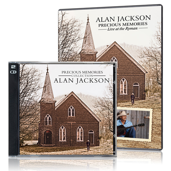 Alan Jackson: Precious Memories DVD/CD