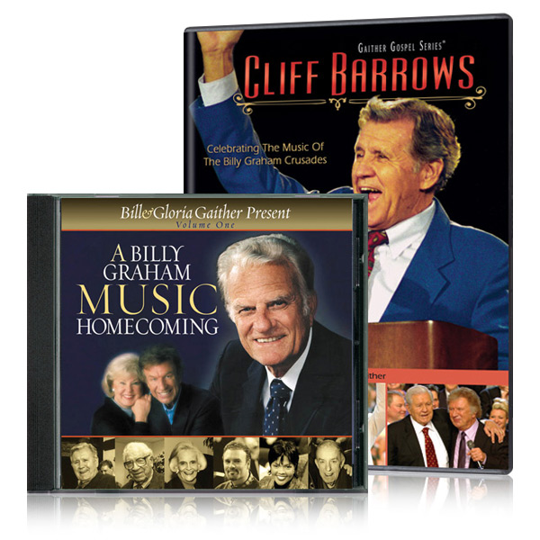Cliff Barrows: Celebrating The Music Of The Billy Graham Crusades DVD with A Billy Graham Music Home