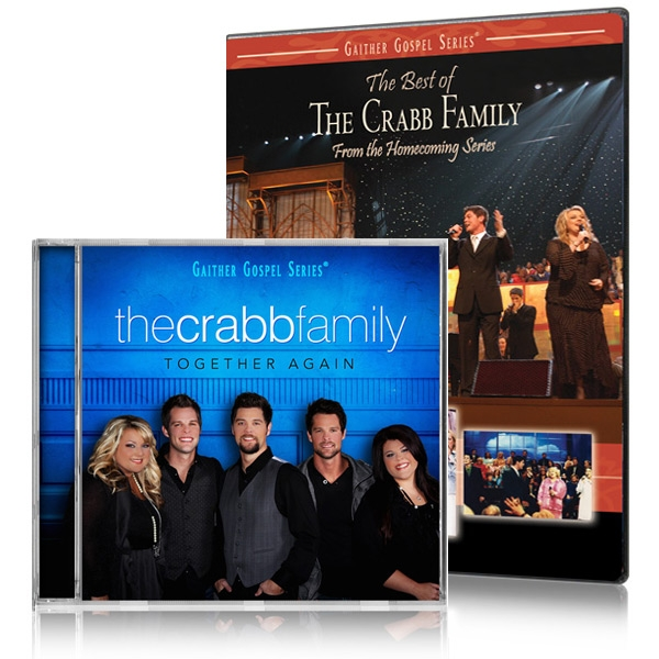 The Best Of The Crabb Family DVD w/Together Again CD