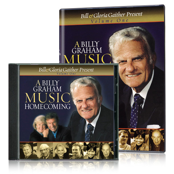 A Billy Graham Music Homecoming Volume One DVD & CD