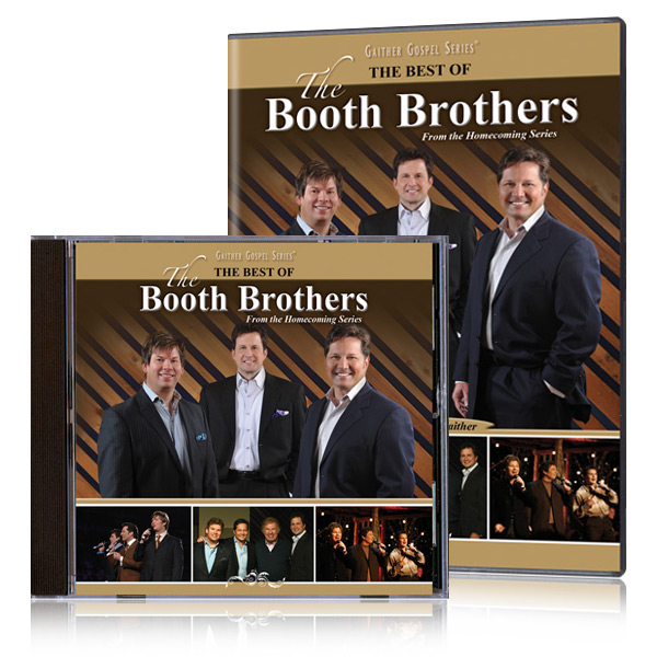 The Best Of The Booth Brothers DVD and CD