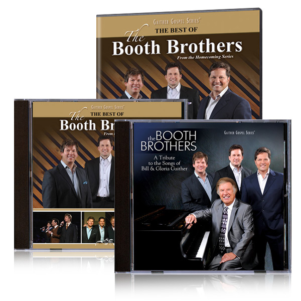 The Best of The Booth Brothers DVD and 2 CDs