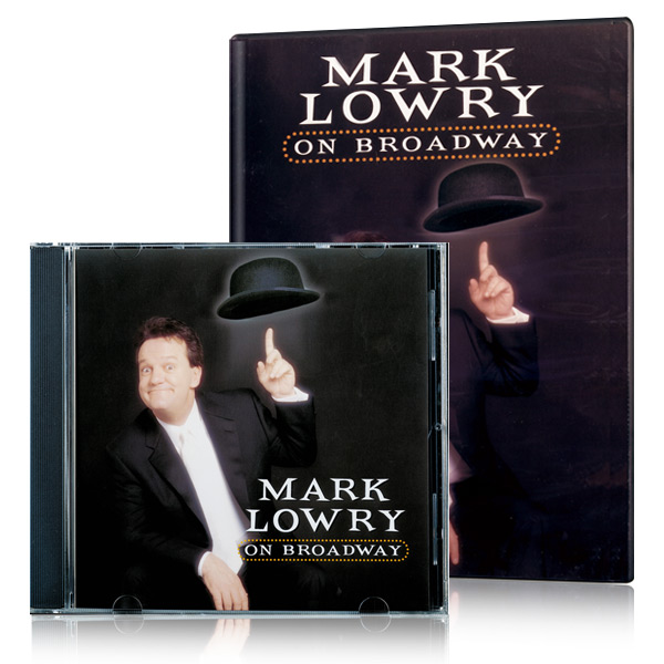 Mark Lowry On Broadway DVD & CD