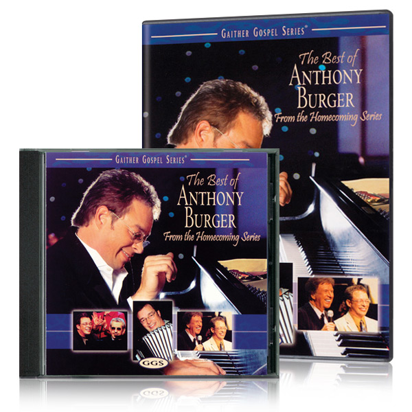 The Best Of Anthony Burger DVD & CD