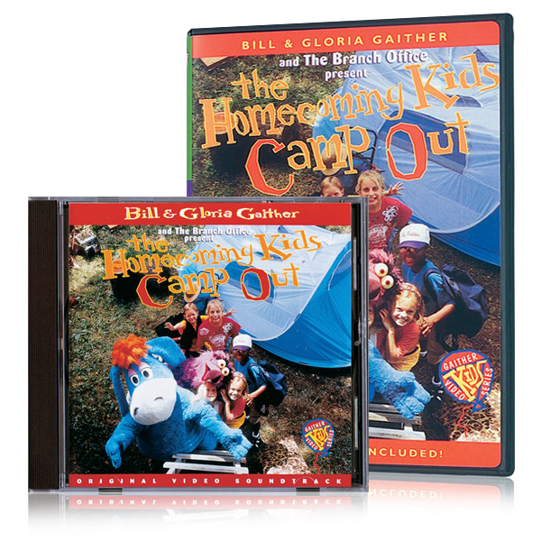 Homecoming Kids Camp Out DVD & CD