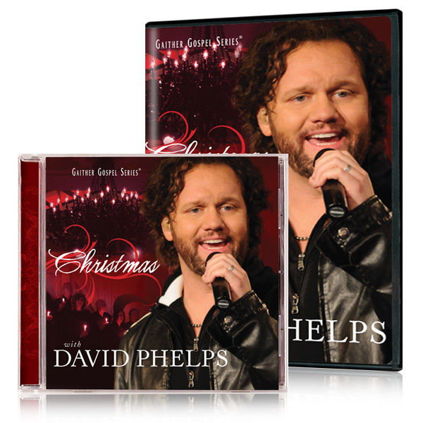 David Phelps:  Christmas With David Phelps DVD & CD