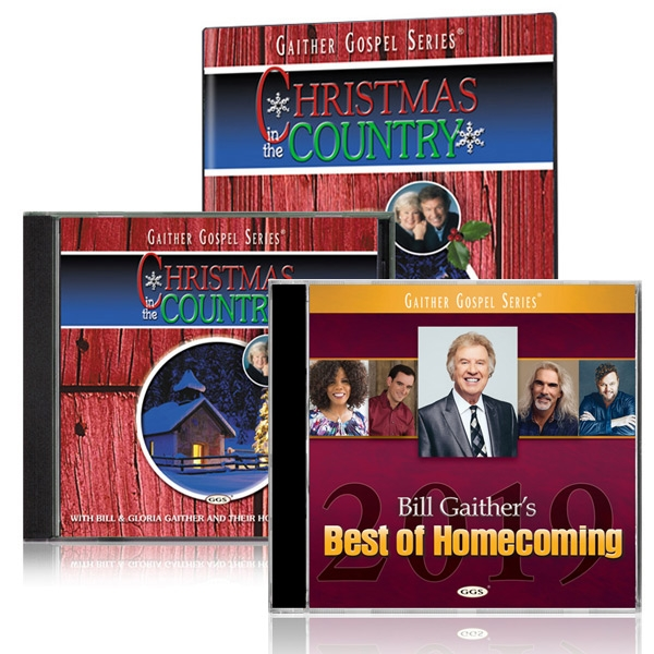 Christmas In The Country 2019 Christmas In The Country DVD/CD w/Best Of Homecoming 2019 CD   Gaither