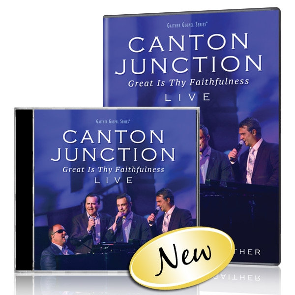 Canton Junction: Great Is Thy Faithfulness DVD & CD