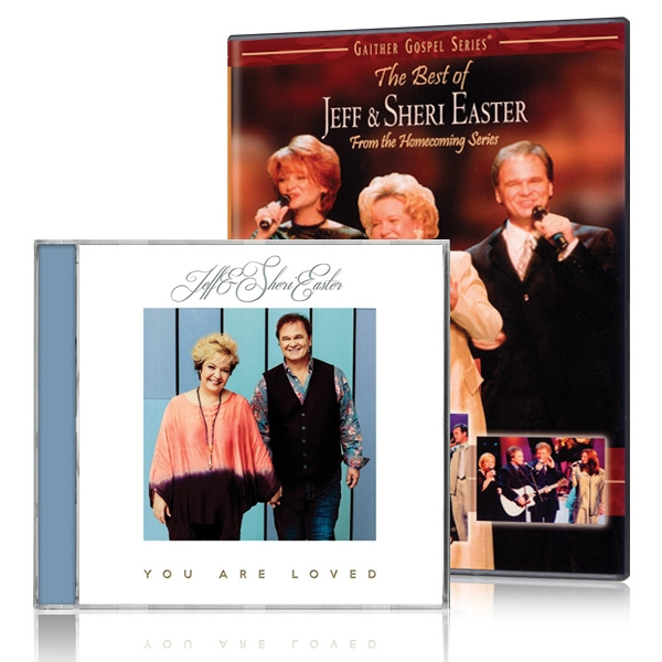 The Best of Jeff & Sheri Easter DVD w/ You Are Loved CD
