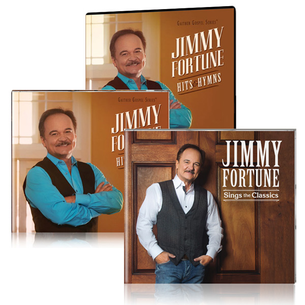 Jimmy Fortune: Hits & Hymns DVD/CD w/bonus Jimmy Fortune: Sings The Classics CD