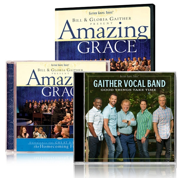 Amazing Grace DVD/CD w/GVB: Good Things Take Time CD