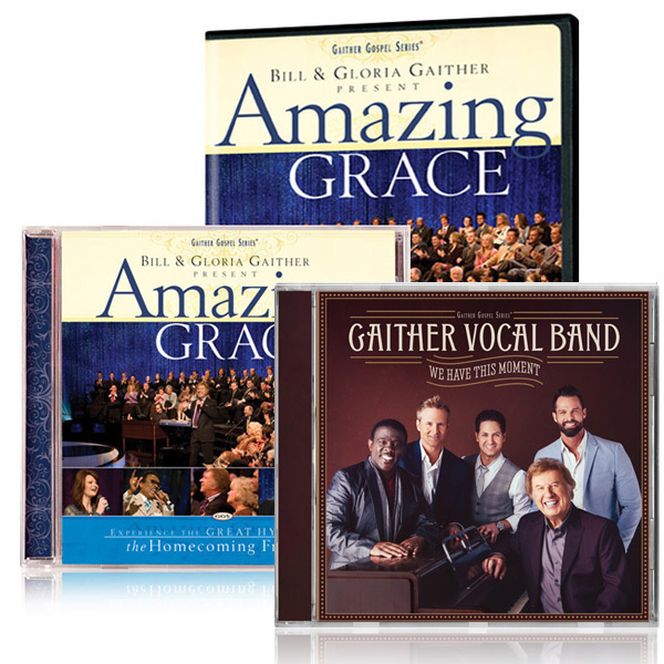 Amazing Grace DVD/CD w/bonus GVB: We Have This Moment CD