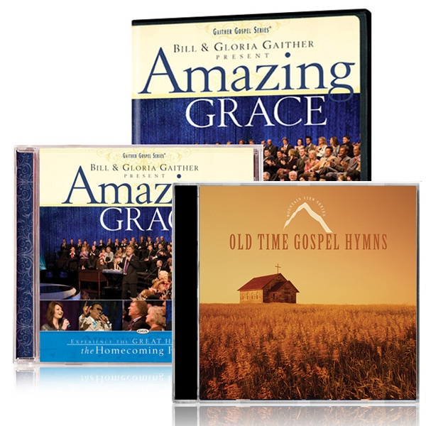 Amazing Grace DVD/CD w/Old Time Gospel Hymns CD