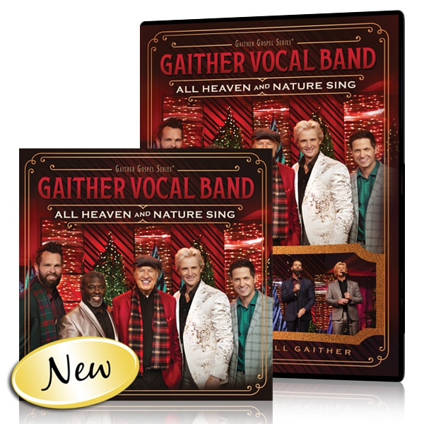 Gaither Vocal Band: All Heaven And Nature Sing DVD/CD