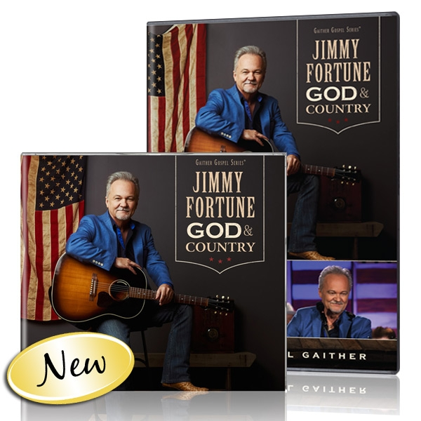 Jimmy Fortune: God & Country DVD/CD