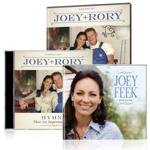 Joey+Rory: Hymns DVD/CD w/bonus Joey Feek: If Not For You CD