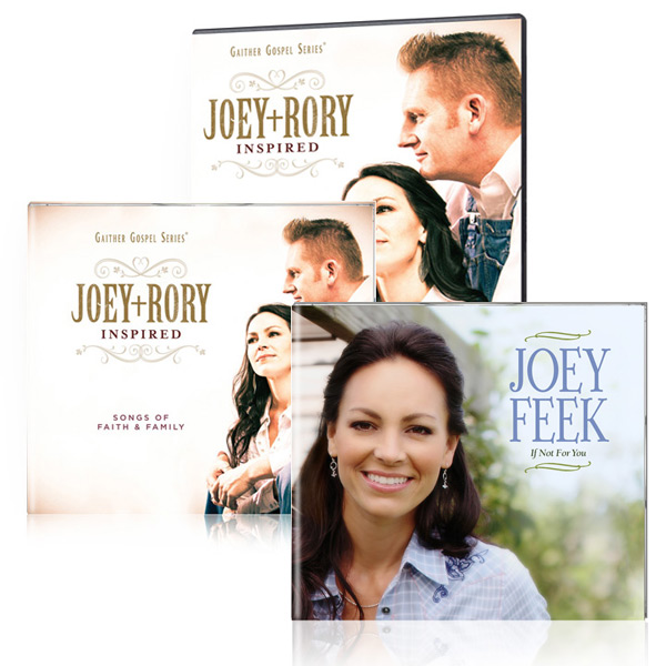 Joey+Rory: Inspired DVD/CD w/bonus Joey Feek: If Not For You CD