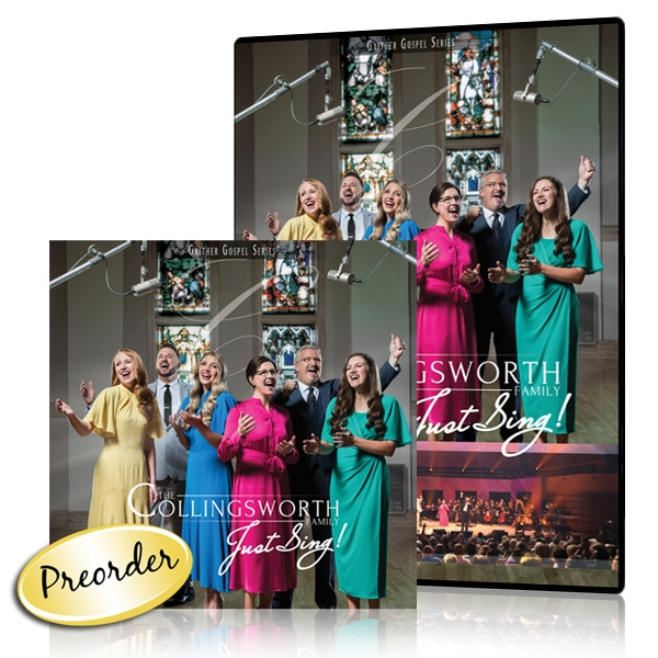 The Collingsworth Family: Just Sing! DVD & CD
