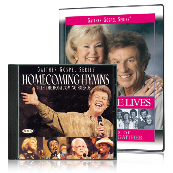 Because He Lives DVD & Homecoming Hymns CD