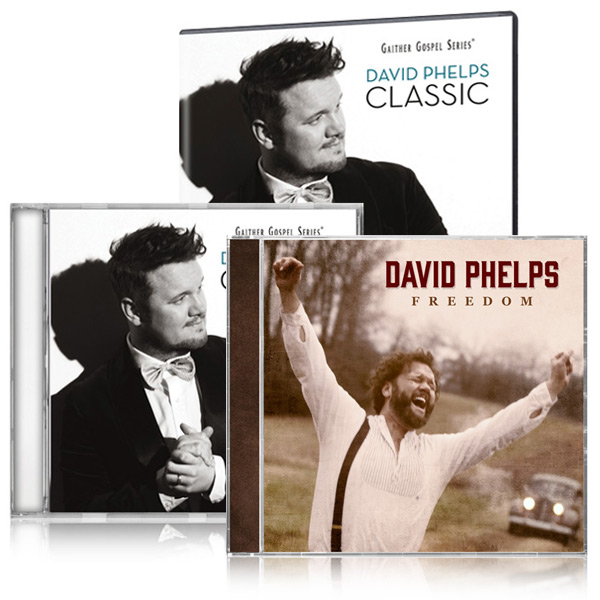 David Phelps Classic DVD/CD w/bonus David Phelps Freedom CD