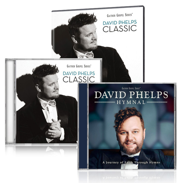 David Phelps Classic DVD/CD w/bonus David Phelps Hymnal CD