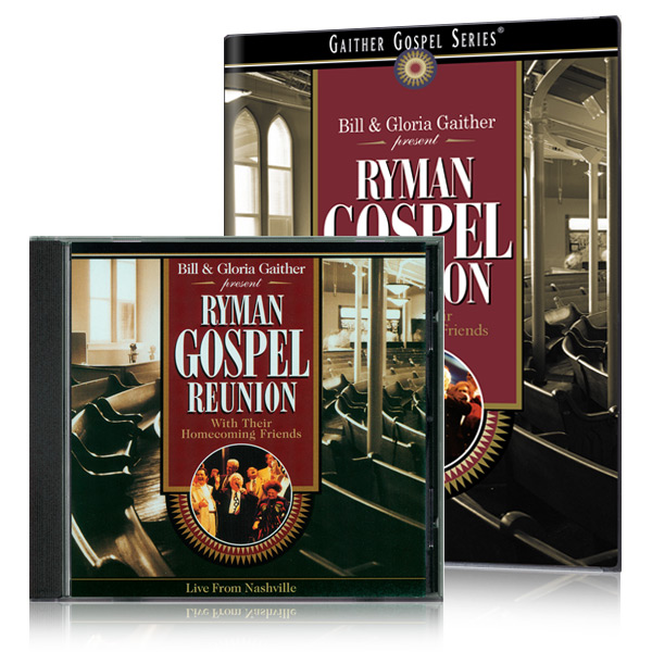 Ryman Gospel Reunion DVD & CD