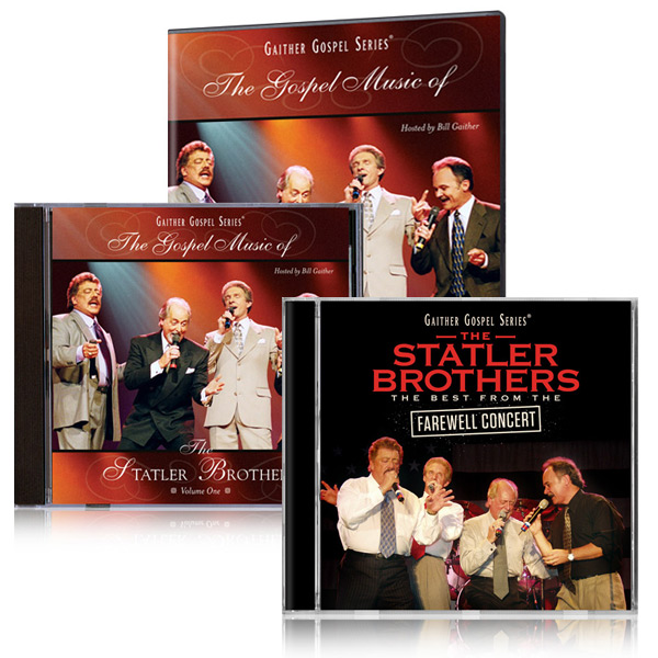 The Statler Bros.: Gospel Music Vol 1 & Farewell Concert 2 Pk