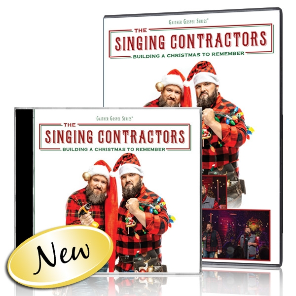 The Singing Contractors: Building A Christmas To Remember DVD and CD
