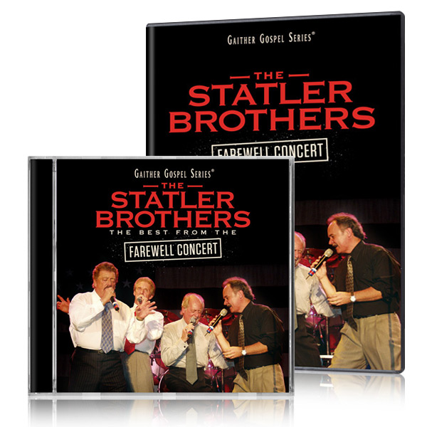The Statler Brothers: Farewell Concert DVD & CD