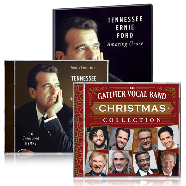 Tennessee Ernie Ford: Amazing Grace DVD/CD w/bonus GVB: Christmas Collection CD