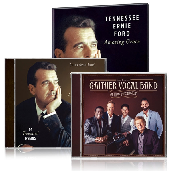 Tennessee Ernie Ford: Amazing Grace DVD/CD w/bonus GVB: We Have This Moment CD