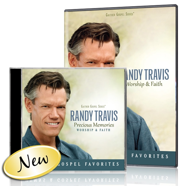 Randy Travis: Worship & Faith DVD & CD