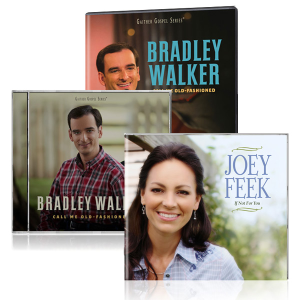 Bradley Walker: Call Me Old Fashioned DVD/CD w/bonus Joey Feek: If Not For You CD