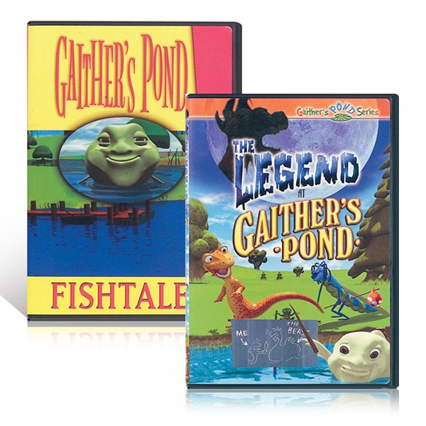 The Legend At Gaithers Pond & Fishtales DVDs
