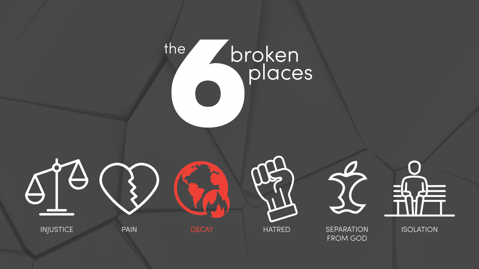 Easy Steps to Healing the Broken Place of Decay!