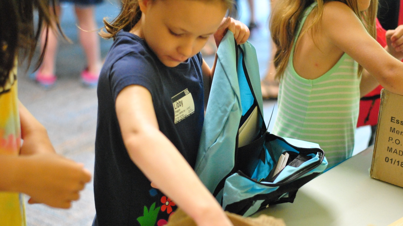Back to School Blast Packing Event (Fishers)