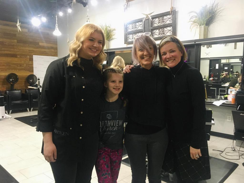 Mother & Daughter Salon Night Highlight