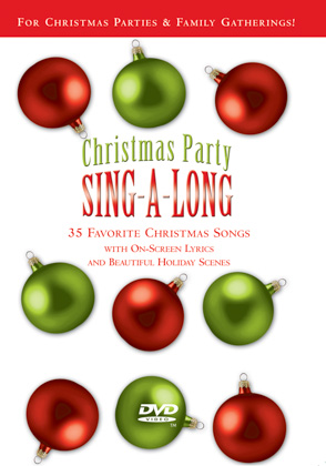 CHRISTMAS PARTY SING-A-LONG - DVD