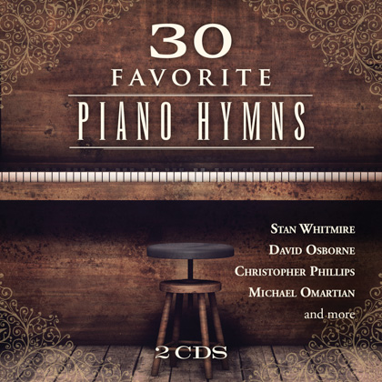 30 FAVORITE PIANO HYMNS - 2 CDS